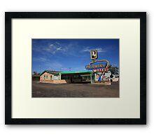 Route 66 - Tucumcari, New Mexico Framed Print
