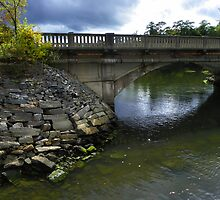 Royal River Bridge by MaryinMaine