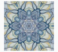 Blue and yelow mandala Baby Tee