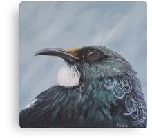 Looking at you - tui Canvas Print