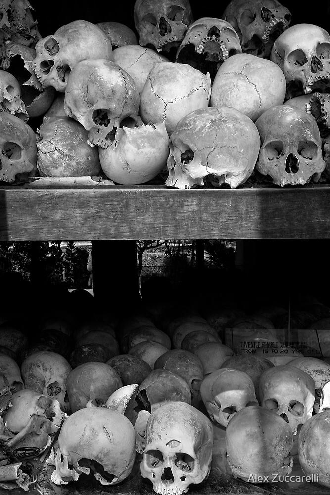 Legacy of Murder - Killing Fields of Choeung Ek, Cambodia by Alex Zuccarelli