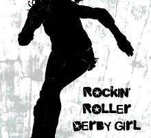 Rockin' Roller Derby Girl by levywalk