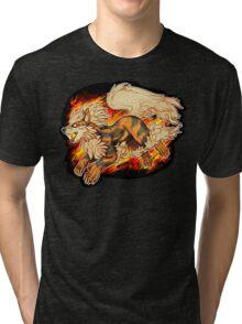 Arcanine Tri-blend T-Shirt