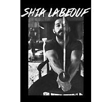 Shia Labeouf Sword Photographic Print