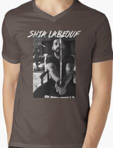 Shia Labeouf Sword Mens V-Neck T-Shirt