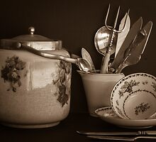 Collecting old things by Clare Colins