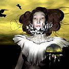 Le Corbeau  by Sandra Bauser Digital Art
