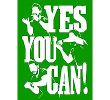 Shia Labeouf - YES YOU CAN Photographic Print