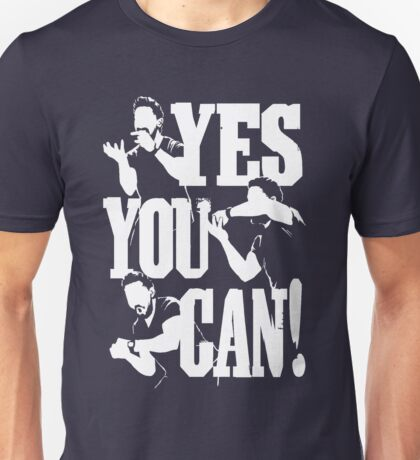 Shia Labeouf - YES YOU CAN Unisex T-Shirt