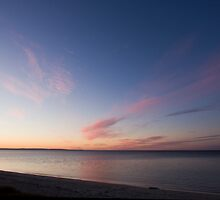 Busselton Beach at sunset, Western Australia by Nigel Donald