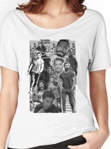 Shia Labeouf Collage Women's Relaxed Fit T-Shirt