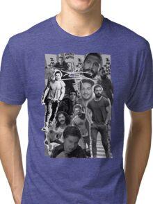 Shia Labeouf Collage Tri-blend T-Shirt