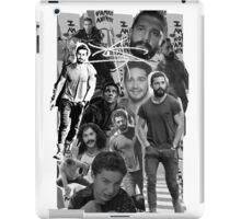 Shia Labeouf Collage iPad Case/Skin