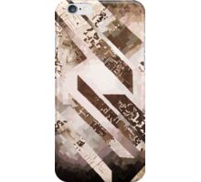 Diagonal Gradient Newspaper Collage iPhone Case/Skin