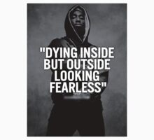"2Pac ""Looking Fearless"" Quote Blur by VisionaryCS"
