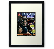 Video Game Trader #34 Cover Design Framed Print
