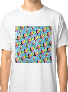 Homer's Oddity (Grafitti Pattern version) Classic T-Shirt