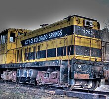 Engine 9703 by Timothy S Price