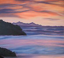 Sunrise over Sumner by Pam Buffery