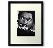 Ice Cube - Too Real Framed Print