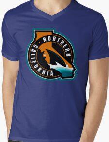 Sharks Mens V-Neck T-Shirt