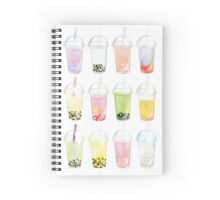 Pearl Tea Spiral Notebook