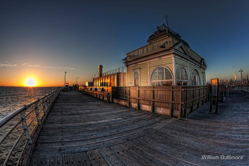 St Kilda Pier Kiosk • Melbourne by William Bullimore