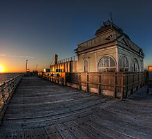 St Kilda Pier Kiosk • Melbourne by William Bullimore