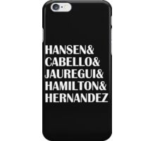 Fifth Harmony Last Name iPhone Case/Skin