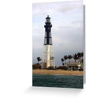 Coral Springs Lighthouse Greeting Card
