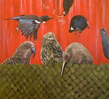 Box of birds by Pam Buffery