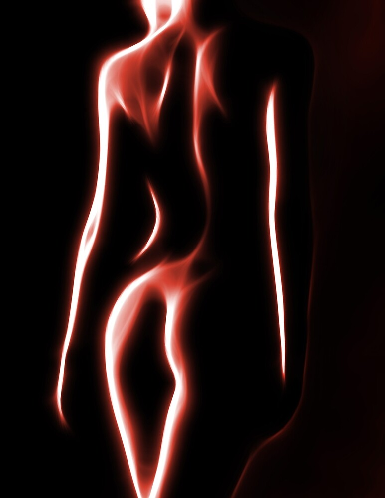 Nude in Red 3 by Mikhail Palinchak