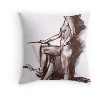 Butch Cut Throw Pillow