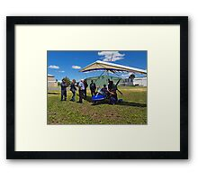 Pilots with Airbourne XT-912 Framed Print