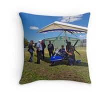 Pilots with Airbourne XT-912 Throw Pillow