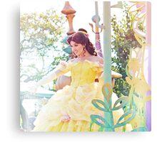 Disney's Belle Canvas Print