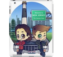 Winchesters in NJ iPad Case/Skin