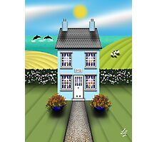 Dolphin Cottage Photographic Print
