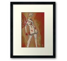 Silent Hill - Nurse Framed Print