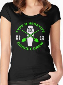 Type O Negative Cascet Crew Women's Fitted Scoop T-Shirt