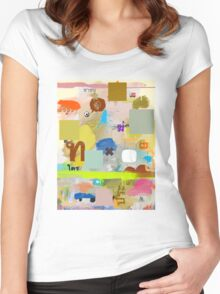messages 06 Women's Fitted Scoop T-Shirt