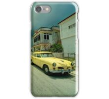 Yellow storm car  iPhone Case/Skin