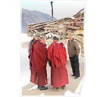 Consultation - Lhasa Tibet Poster