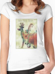 Kris And Rudolph Women's Fitted Scoop T-Shirt