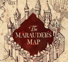 Harry Potter The Marauders Map Sticker