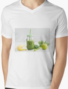 Smoothie in a glass Mens V-Neck T-Shirt