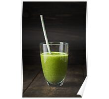 Smoothie in a glass Poster