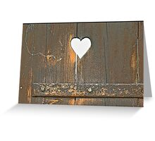 Only Love can Break your Heart Greeting Card