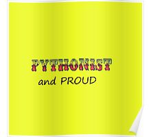 Pythonist and PROUD Poster