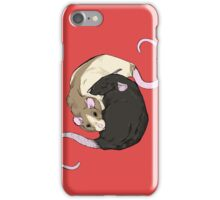 Rat Nap iPhone Case/Skin